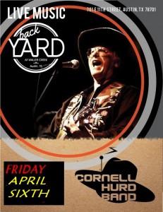 6.10.2016 Cornell Hurd Band flyer.APRIL 6